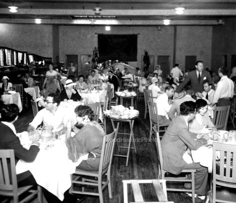 Paramount Studios 1931 Studio commissary